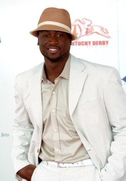 Dwayne Wade at Derby