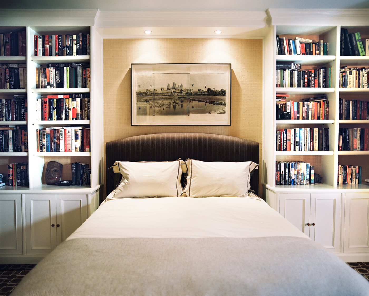 Bookshelf Ideas For Bedroom Bookcase Bed Photos Design Ideas Remodel And Decor Lonny