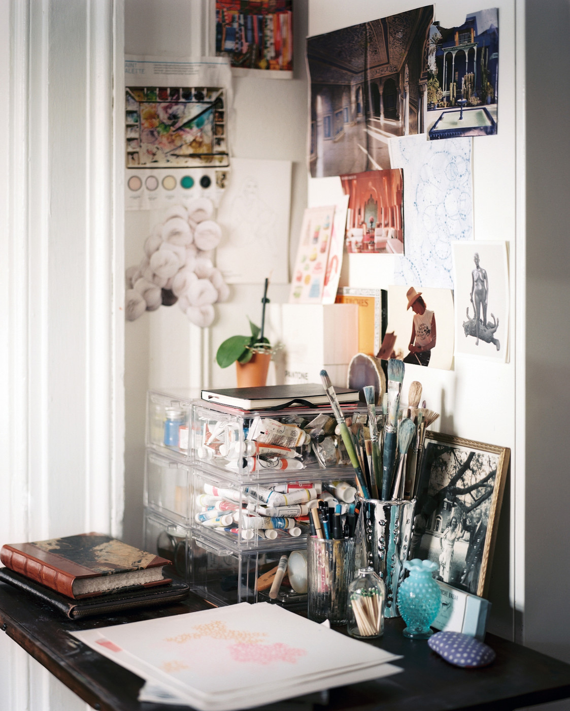 Art Studio Decor An Artist 39s Work Space Home Office Design Ideas Lonny