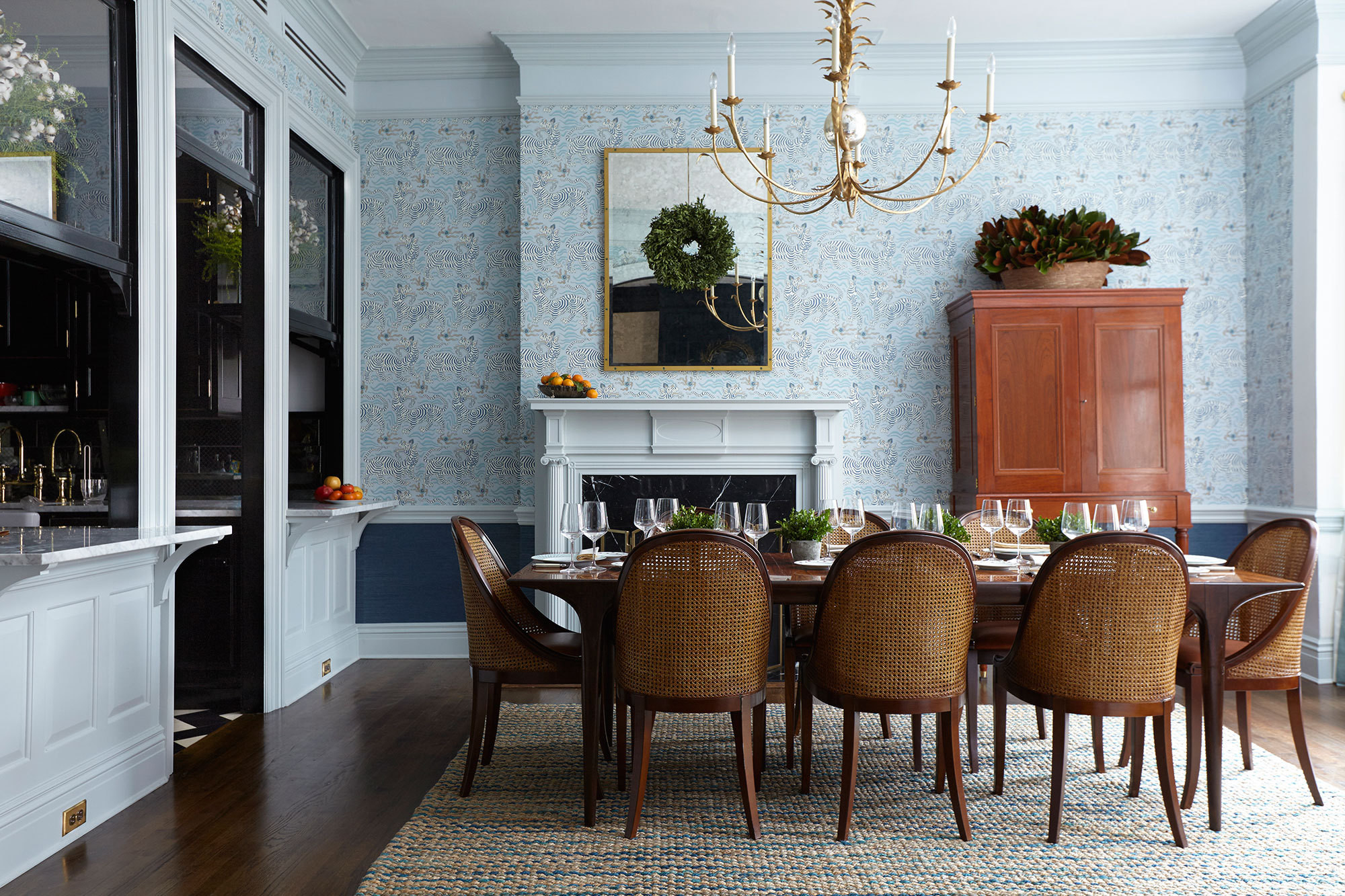 Chic Contemporary Modern Wallpaper A Perfectly Patterned Brooklyn Heights Home For The Ages Home