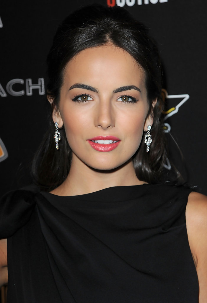 Lipstick Color Is Red Camilla Belle Half Up Half Down Camilla Belle Hair Looks