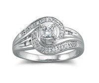 The Curve Ring - 200 Gorgeous Engagement Rings to Obsess ...