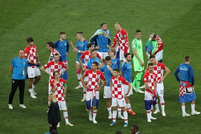 Vedran Corluka and Domagoj Vida Photos Photos - France v Croatia - 2018 FIFA World Cup Russia ...
