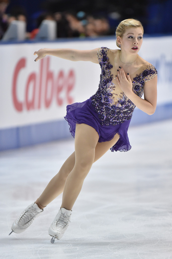 Skater Girl Wallpaper Gracie Gold Photos Photos Isu Grand Prix Of Figure
