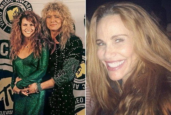 Rock N Roll Wallpaper For Girls Tawny Kitaen Then And Now Then And Now 80s Music Video