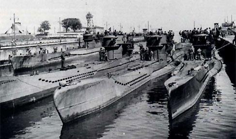 Deutsche U Boote Im Zweiten Weltkrieg U Boote U Flottillen