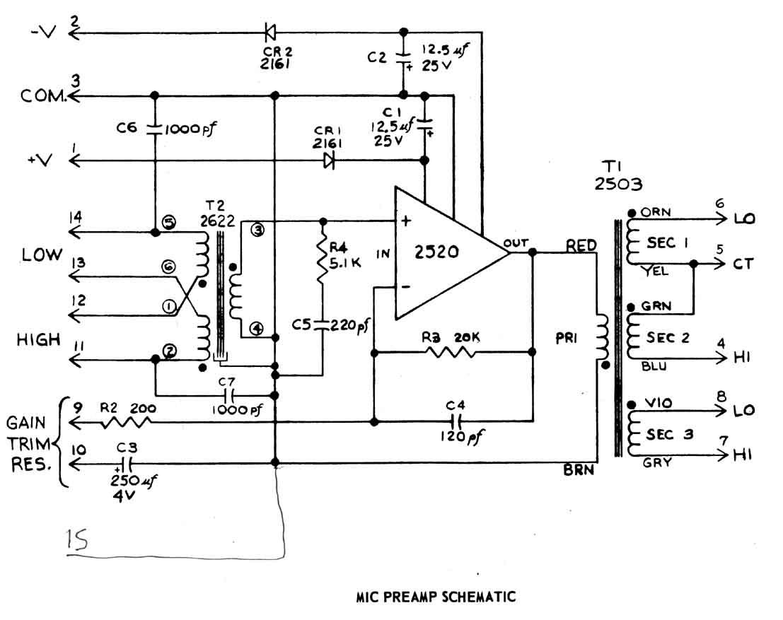 100 pair wiring diagram schematic