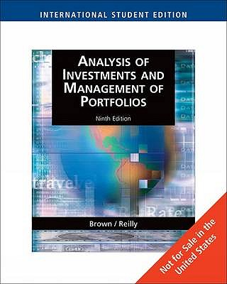 Analysis of Investments and Management of Portfolios book by Keith C - investment analysis