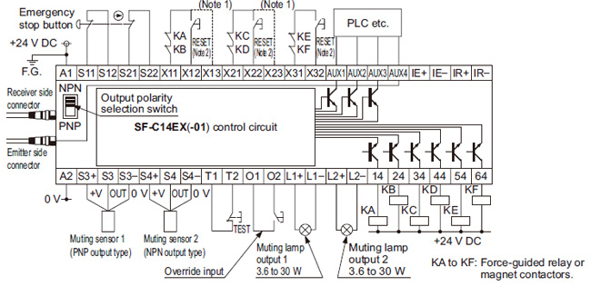 wiring diagram emergency stop