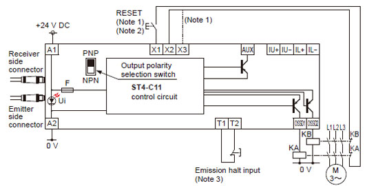 pnp output wiring diagram