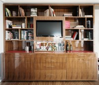Bookcase Tv Stand Photos, Design, Ideas, Remodel, and ...