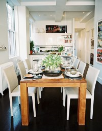 kitchen table & chairs 2017 - Grasscloth Wallpaper