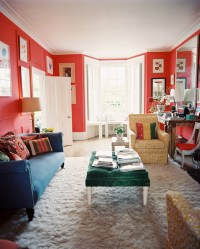 Red Living Room Photos (2 of 139) - Lonny