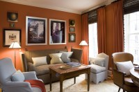 Mad For Matte - 15 Orange Rooms That Are Anything But ...