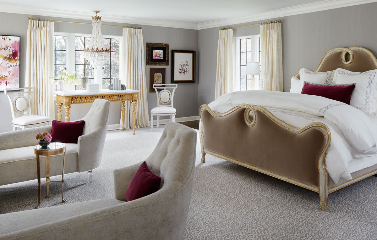 Master Bedroom Lounge Chair Ten Tips An Elegant Bedroom Oasis Home Tour Lonny
