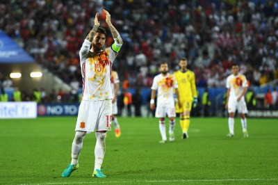 Sergio Ramos Photos Photos - Croatia v Spain - Group D: UEFA Euro 2016 - Zimbio
