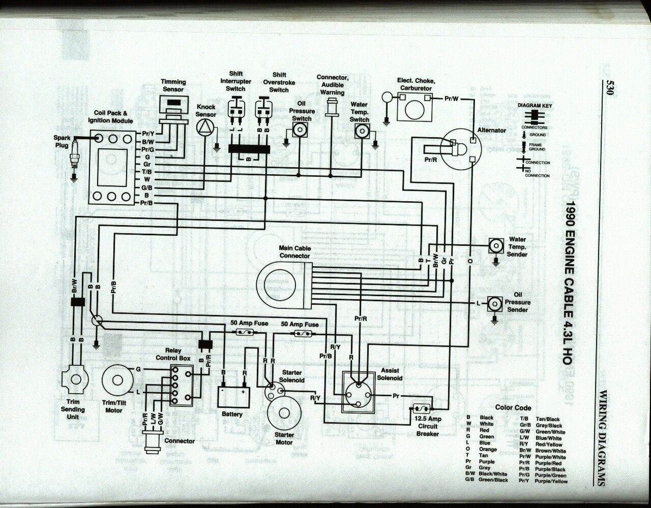 Omc Wire Diagram Auto Electrical Wiring Instrumentation Basics 1993 Evinrude 50 31 Images