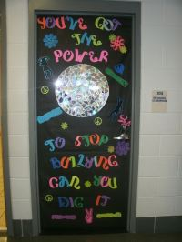 WCMS promotes anti-bullying/ anti-drug campaign with door ...