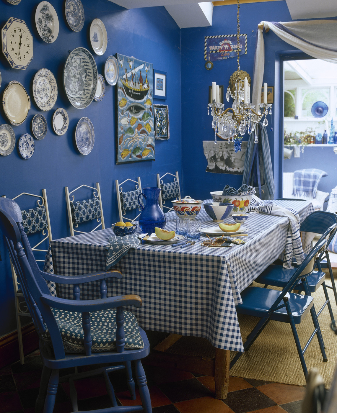 Dining Room Ideas In Blue Blue Country Dining Room Dining Room Decorating Ideas