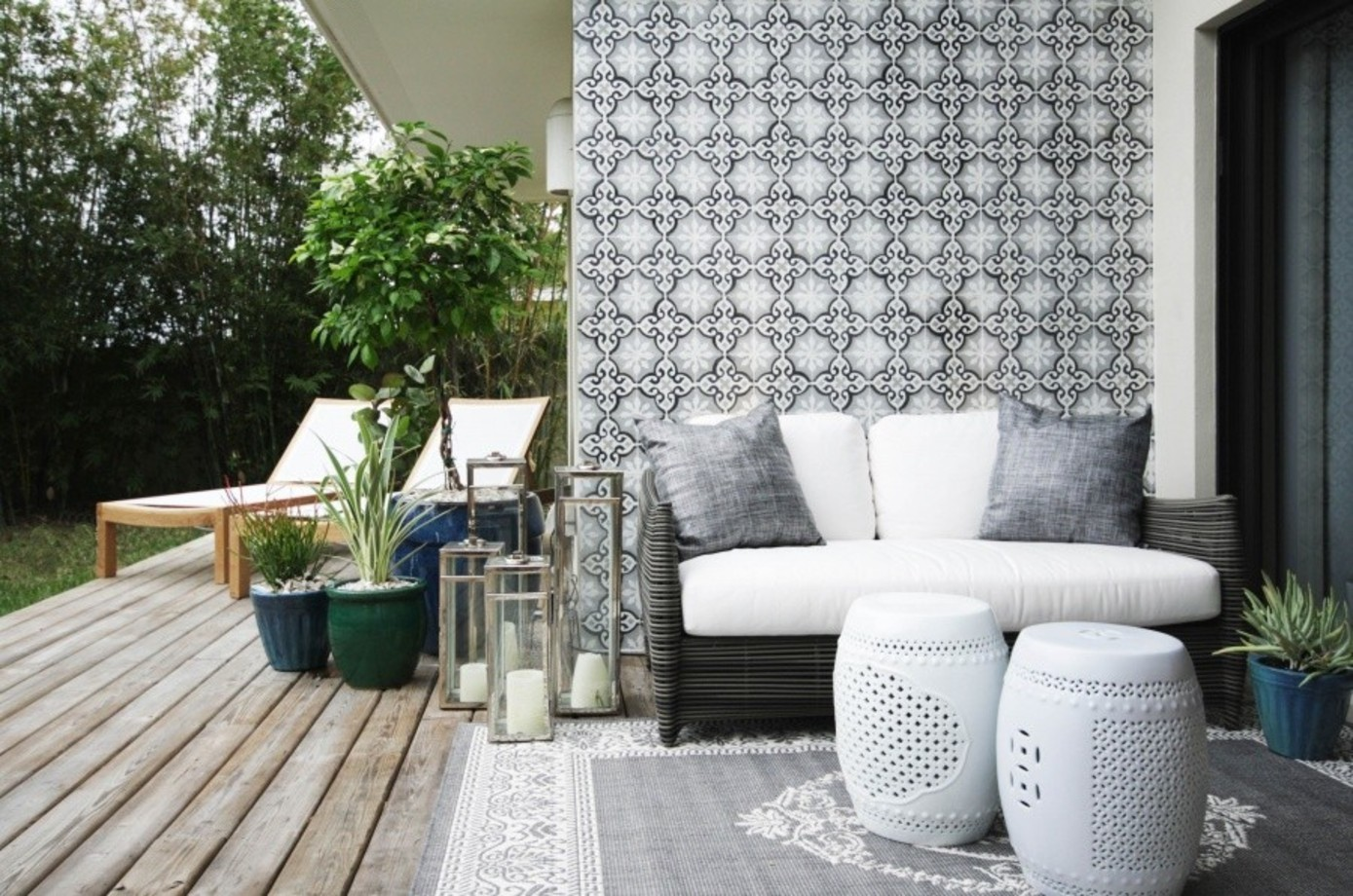 Wintergarten Einrichten Tipps Get The Look A Stylish Indoor Outdoor Patio Decorating