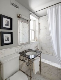5 Tips From an Elegant, Small-Space Bathroom - Decorating ...