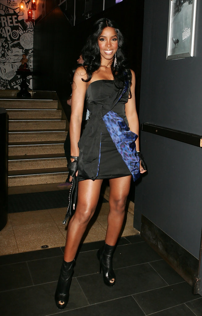 Fashion Clothes Kelly Rowland Ankle Boots - Kelly Rowland Boots Looks