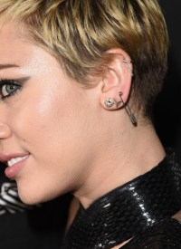 Miley Cyrus Diamond Studs - Miley Cyrus Looks - StyleBistro
