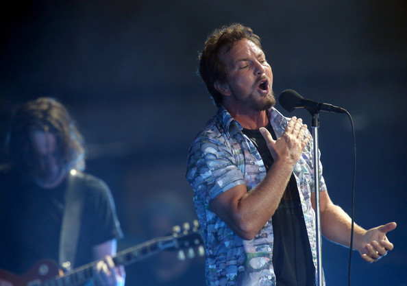 Eddie Vedder Photos Photos Big Day Out Festival Held In