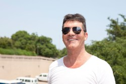 """Simon Cowell poses during """"The X Factor"""" Season 2 auditions ..."""