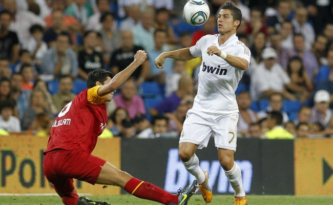 Cristiano Ronaldo Photos Photos Real Madrid Vs Galatasaray Santiago Bernabeu Trophy Zimbio