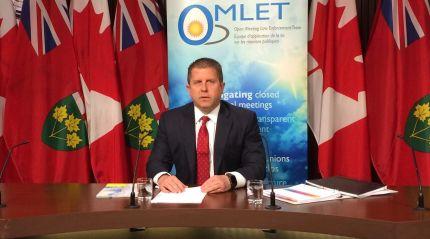 André Marin, ici dans ses fonctions d'ancien ombudsman, représente les couleurs du PC de l'Ontario dans Ottawa-Vanier. Archives
