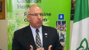 Le président de l'Assemblée de la francophonie de l'Ontario (AFO),  Denis Vaillancourt.  Courtoisie