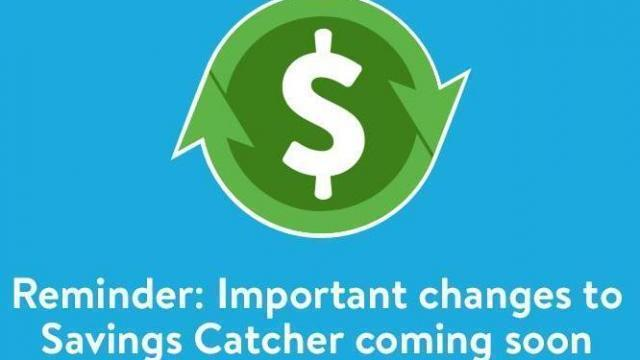Big changes to Walmart Savings Catcher started 10/29  WRAL
