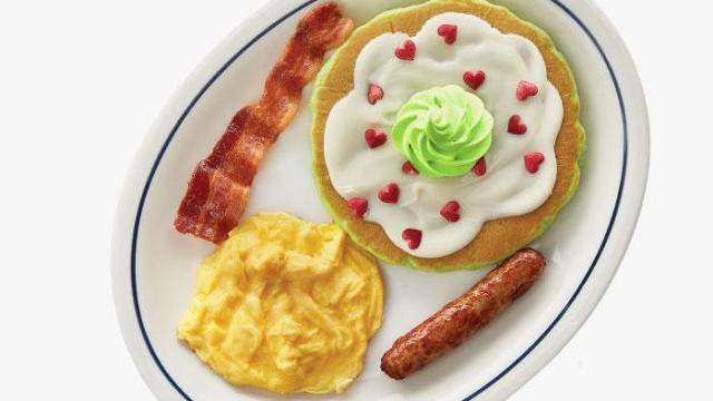 IHOP Kids eat free with adult entree purchase  WRAL