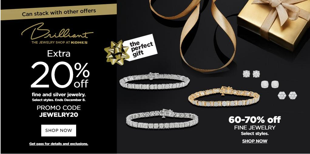 Kohl39s Coupon For 20 Off Fine Silver Jewelry 25 Off