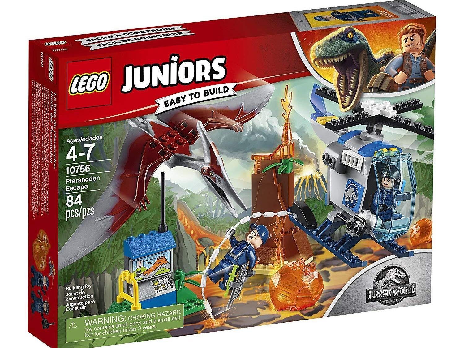 Cars 3 Jackson Storm Jouet Lego Juniors Jurassic World Pteranodon Escape Set Only