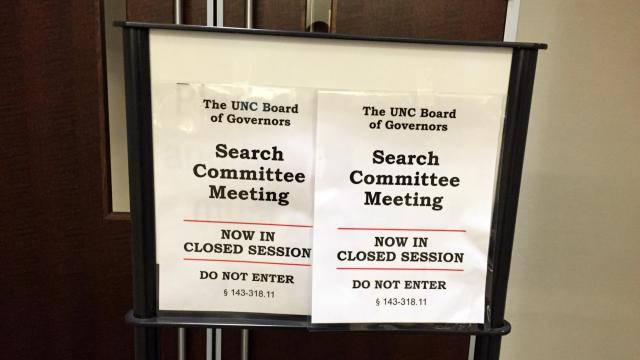 Top lawmakers seek records of UNC Board of Governors\u0027 closed meeting