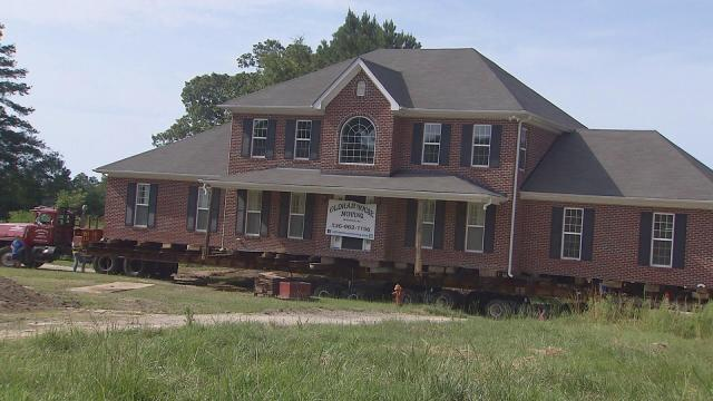 Family sells land to Wal-Mart, moves house across the street  WRAL