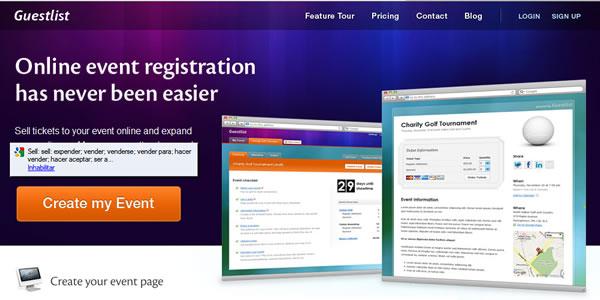 Guestlist - Crear entradas personalizadas para eventos - como hacer boletos para un evento