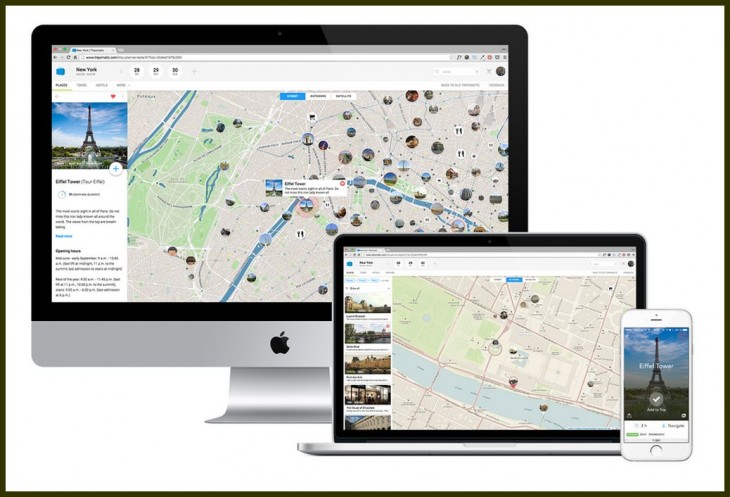 Tripomatic, para crear itinerarios de viaje, presenta nueva versión