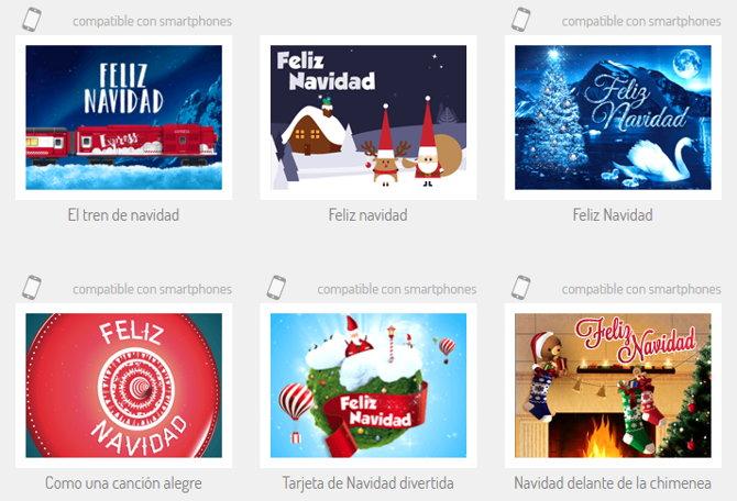 5 sitios web para crear tarjetas de navidad y enviarlas online