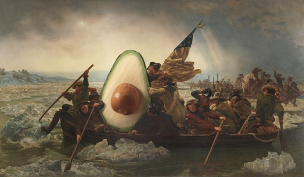 25 Famous Paintings Improved by Avocados - Page 4 - The Late Show