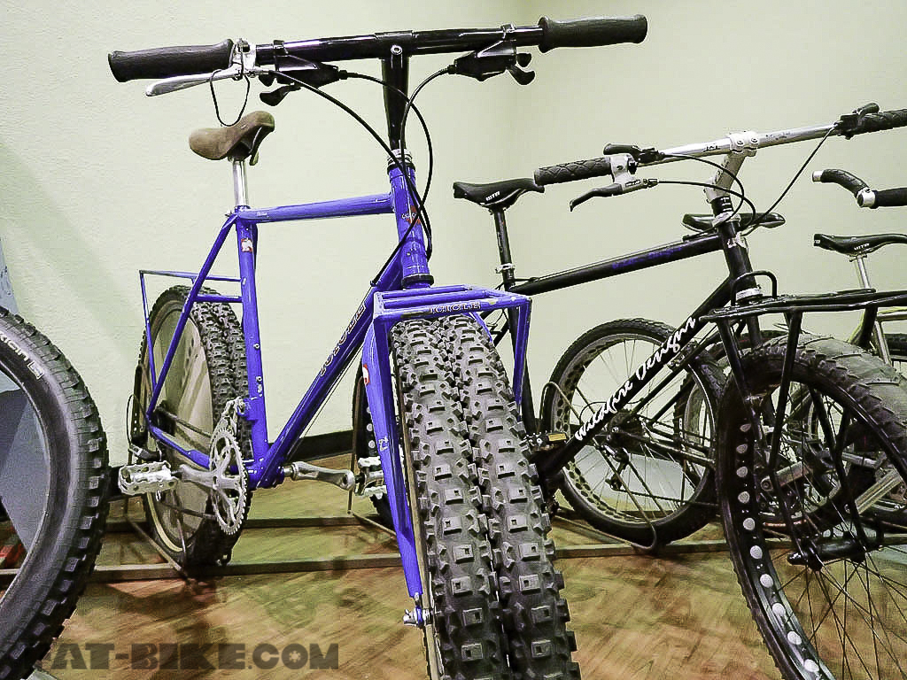 Fat Bike History Of Fat Bikes Wyatt Bicycles Fat Bikes Made In Usa