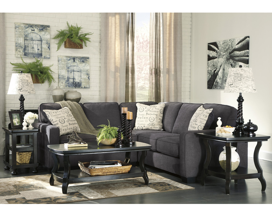 Ashley Furniture San Diego Ashley Furniture Alenya Sectional 16601 Grey Track Arm