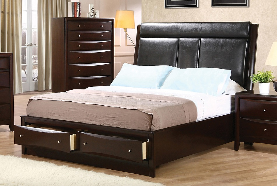 Boxspring Review Phoenix Collection 200419kw Coaster California King Bed Frame