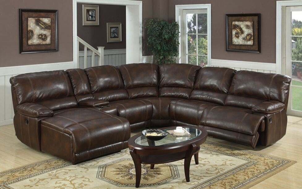 Reclining Sofa Los Angeles Ca Tacoma E Motion Brown Sectional With Chaise And Recliner