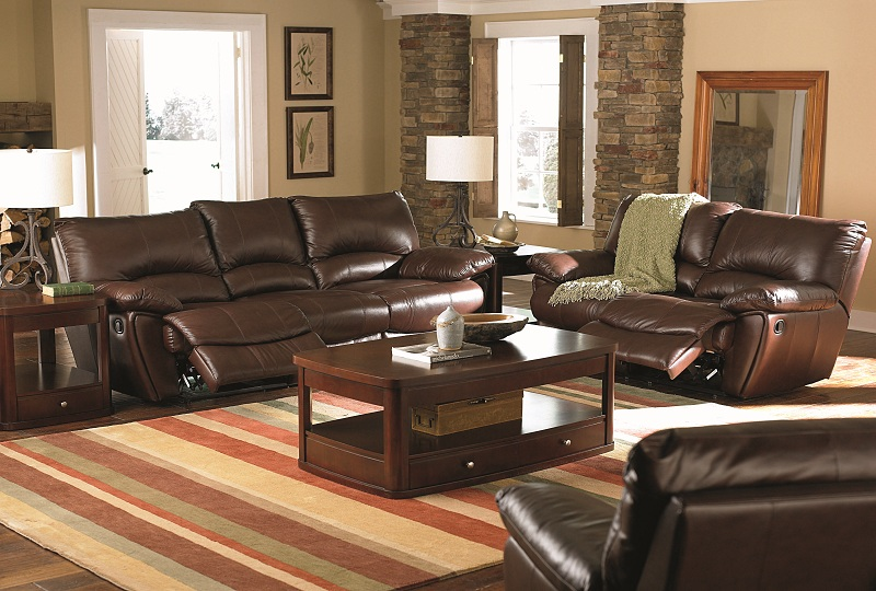 Reclining Sofa Los Angeles Ca Furniture Outlet, Brown Leather Reclining Sofa Loveseat