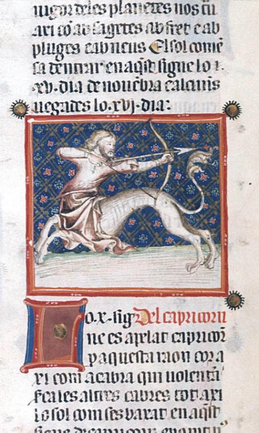 Yates Thompson 31   f. 47v   Sagittarius