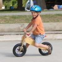 Not just play - bike riding as a fun and educational experience