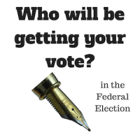 Federal election - who will you vote for?